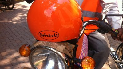 SafeBoda driver attacked by other 'regular' boda-boda drivers in Kampala