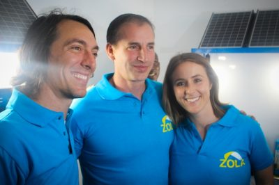 Energy company Zola Electric closes $20 Million from SunFunder and others